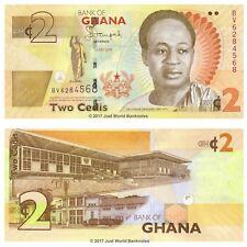 Ghana 2 Cedis 2015 P-New Banknotes UNC