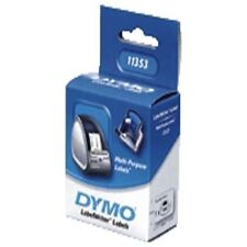 Ukvatincl S0722530 Dymo LabelWriter Multi-purpose Labels 13x25mm Roll 1000
