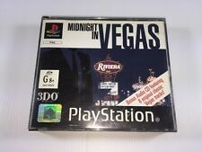 MIDNIGHT IN VEGAS | SONY PLAYSTATION 1 | PS1 | PAL | COMPLETE