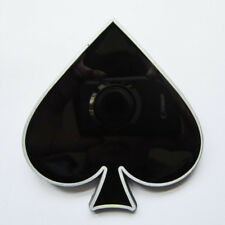 ACE SPADE Gürtelschnalle USA Buckle massiv Wechselschnalle Poker Player Tattoo