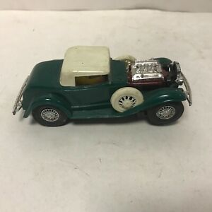 VINTAGE RARE MARX 1/32 32 GREEN FORD SLOT CAR  FROM MARX R&D NICE SHAPE