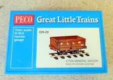 PECO GR-221C OO-9 SCALE Southern Rlw Lynton /& Barnstaple Covered Box Van 47037