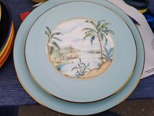 BRITISH COLONIAL TRADEWIND by Lenox Accent Salad Plate & Dinner plate