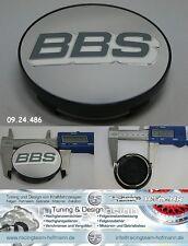 BBS tapa tapacubos Emblema Tapas centrales Cromo/blanco 70,6mm 09.24.486