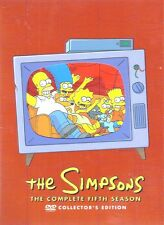 The Simpsons Complete Fifth Season BRAND NEW, BUT UNSEALED! Region 1
