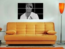 "Birdman 35""X25"" Inch Mosaic Wall Poster Hip Hop Baby Big Tymers Rapper"