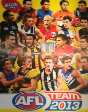 2013 AFL teamcoach Gold - CHECKLISTS for sale - 1.00 SALE