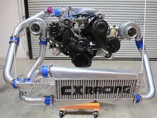 T04E Twin Turbo Intercooler Kit For 79-93 Ford FoxBody Mustang 5.0L Dual 700 HP
