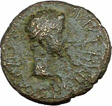 Augustus & Rhoemetalkes Client King of Thrace 11BC Ancient Roman Coin i33868