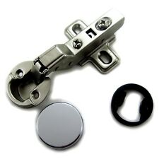 "1"" (26mm) hole Euro Hydraulic soft close insert Hinge for Cabinet Glass door"