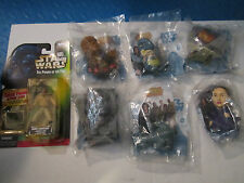 LOT OF 7 STAR WARS ACTION FIGURES - THE KENNER COLLECTION & BURGER KING