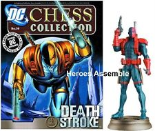DC SUPERHERO CHESS FIGURINE COLLECTION #36 DEATHSTROKE EAGLEMOSS JUSTICE LEAGUE