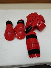 Century Martial Arts Sparring Gloves Youth and Helmet Adult S and Shin Guard Yth