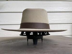 Vintage Resistol Antique Custom Clint Eastwood Cowboy Hat 6 7/8 Western Old West