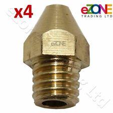 5 x Micro Mini Punte per il gas JET orifizio Iniettore Ugelli 1.0mm 3.2mm