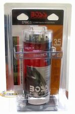 Boss CPBK3.5 3.5 Farad Capacitor with Digital Display - Black