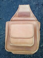 New listing Wild Hare Leather Divided Shell Pouch