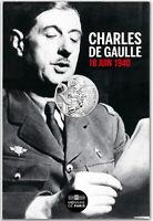 FRANCE 10 EURO 2020 ARGENT Charles de Gaulle Appel du 18 Juin 1940 COINCARD 2/2