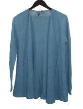 NEW Eileen Fisher Dark Teal Wool Knit Jacket sz M