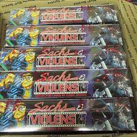 5 BOX LOT + 8 Packs 1993 Sachs & Violens Comic Book Art Cards  Comic Images