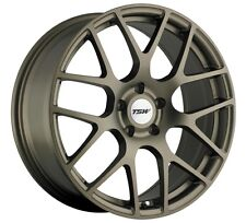 18x8 TSW Nurburgring 5x108 +40 Matte Bronze Rims Fits Ford Focus 2012-2016