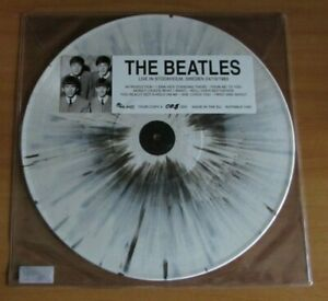 THE BEATLES LIVE IN STOCKHOLM LP COLORED  VINYL MINT