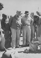 WWII photo Admiral of the US Navy C. Nimitz and Vice Adm. C. McMorris war 7i