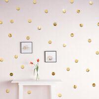 100pc 2cm Runde 3D Spiegel Wandaufkleber für Decke Schlafzimmer Abziehbild Dekor