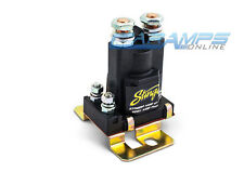 New Stinger Pro 80 Amp Dual Battery Isolator & Relay Car Truck Stereo Wiring