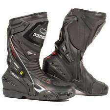Richa Tracer CE Approved Leather Hipora Waterproof Track Racing Motorcycle BOOTS Black Eu45 (uk11) 084/tracr/blk/45