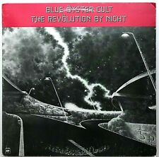 """BLUE OYSTER CULT """"The Revolution By Night"""" LP 1983 Columbia First Press - EX"""