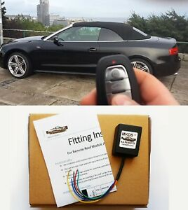 AUDI A5 CABRIO CONVERTIBLE KEY FOB REMOTE ROOF CONTROL SMART TOP MODULE BY MKDS