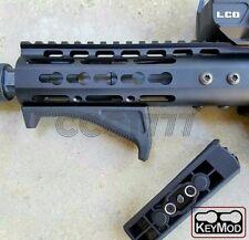 Keymod Angled Foregrip AFG Black Tactical Keymod Fore Grip For Keymod Handguard