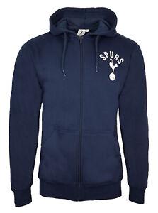 Official Tottenham Hotspur Football Zip Hoodie Mens Large TH15