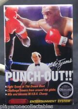 "Mike Tyson's Punch-Out Game Box 2"" x 3"" Fridge Magnet. NES Vintage Video Game."