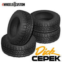4 X New Dick Cepek Trail Country EXP LT285/70R17R10 Tires