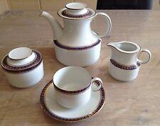 SERVIZIO DA THE da 12 porcellana winterling bavaria theiera lattiera zuccheriera
