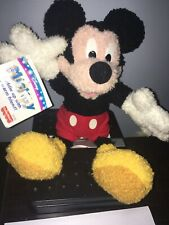 vintage Disney Mickey Mouse Mattel Fisher Price Disney Plush Jointed 1999