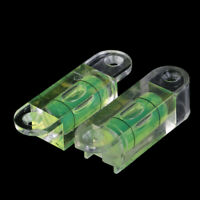 Acrylic Square Level Bubble Mini Spirit Level Bubble with ears screw hole Nd