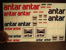 DECALS 1/43 - 1/18 LOGOS ANTAR  - T273
