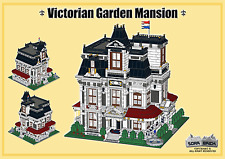 LEGO building instruction,consisting of LEGO elements - Victorian Garden Mansion