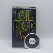 The Evil Dead UMD Video PSP Console