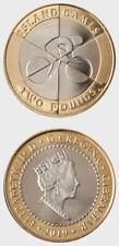 Gibraltar 2020 £2 Coin - Island Games