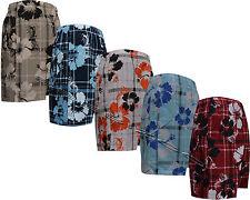 New Mens Boys Summer Floral Print Beach Shorts Surf Board Swim Shorts M - XXXL