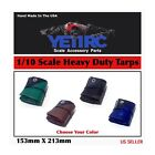1/10 Scale Accessories RC Heavy Duty Tarps for Crawlers And Trucks And Scale Rig