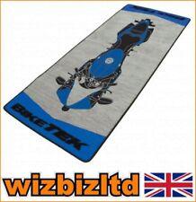 Paillassons, tapis de sol antidérapant bleus modernes pour la maison