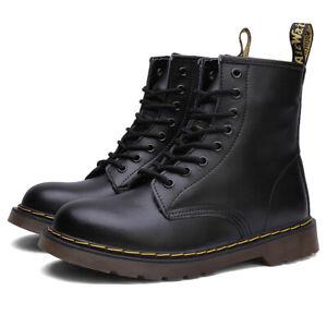 Dr. Martens 1460 mooth Boots Unisex Leder Stiefel - Schwarz Gr. 37-45