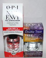 OPI Nail Envy Nail Strengthener MOISTURIZING FORMULA + Drip Dry Drying Drops **