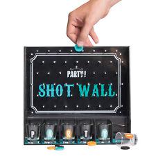 Trinkspiel Shot Wall mit 6 Shotgläser Saufspiel Shot-Wall Partyspiel Party