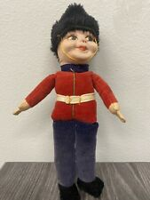 Vintage Norah Wellings Handmade Cloth Doll British Palace Royal Guard